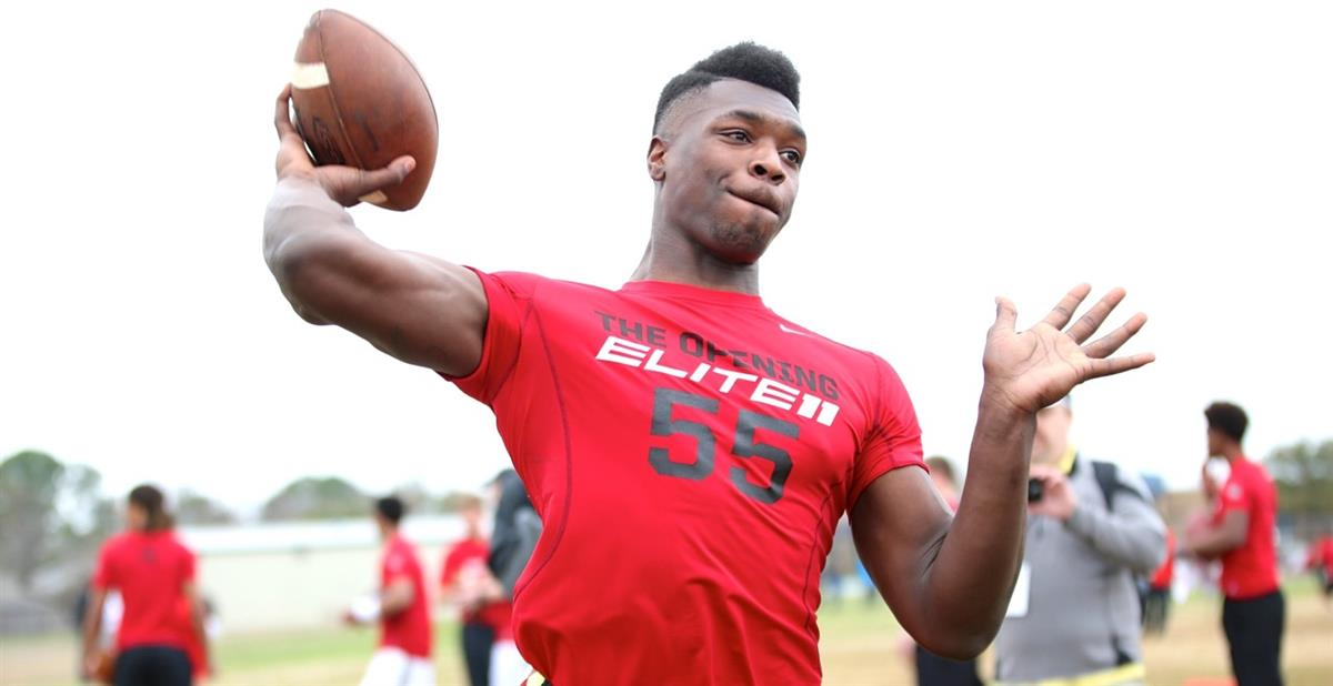 4-star DeSoto QB Tristen Wallace committed to Ohio State: (Photo: 247Sports)