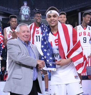 Gary Trent Jr at the U16 World Championships (Photo: USA Basketball)