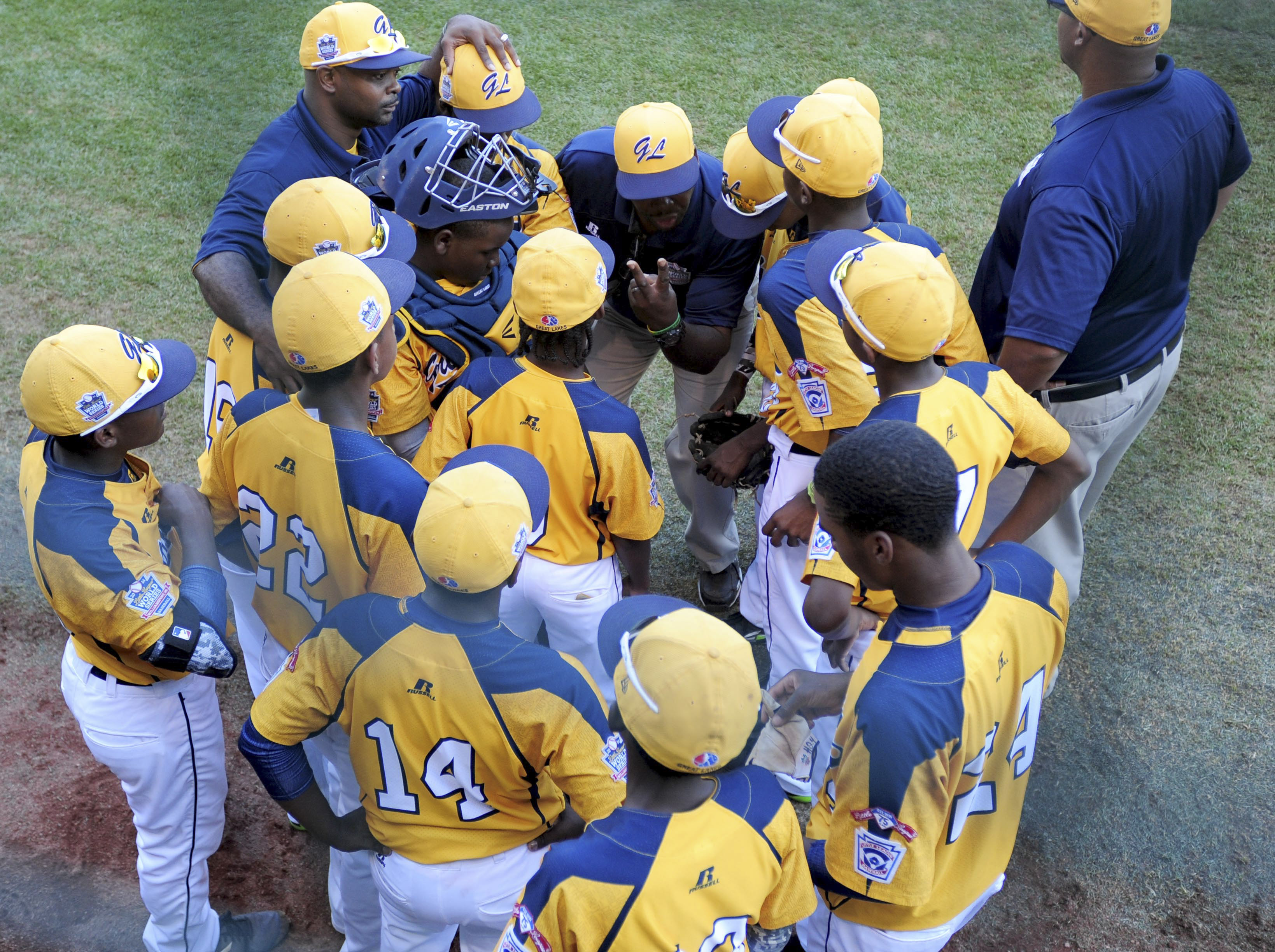 Jackie Robinson West Little League from Chicago represented the Great Laks at last year's World Series (Photo: Evan Habeeb, USA TODAY Sports)