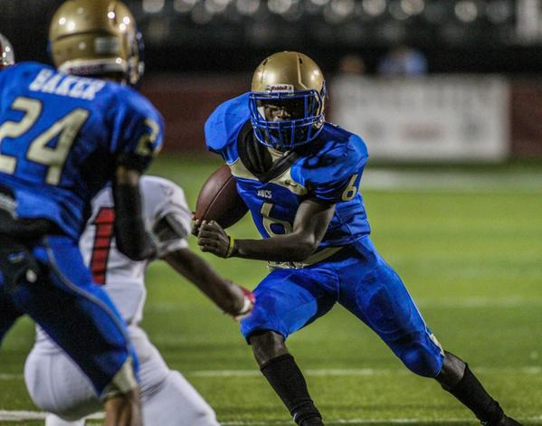 Adrian Killins ran for xx yards and xx touchdowns as Mainland (Daytona Beach, Fla.) moved to No. 25 in the Super 25 rankings. (Photo: 247Sports.com).