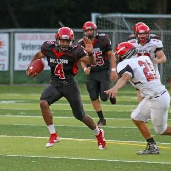 Journey Brown rushed for the second-most yards in high school history in a victory against DuBois (Photo: Twitter)