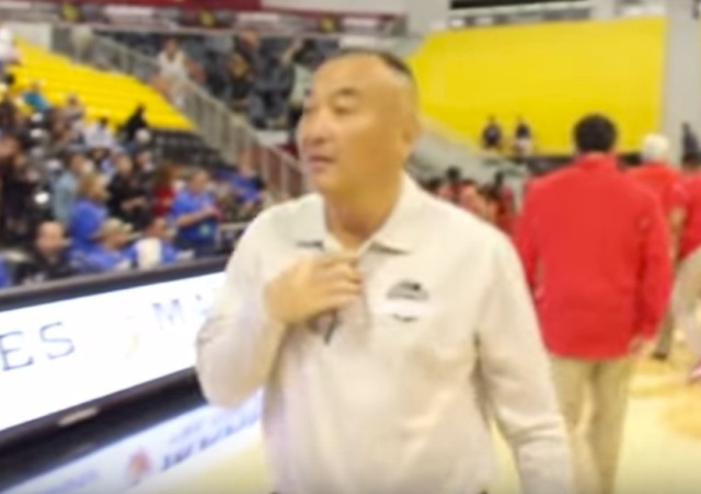 Mark Keppel girls basketball coach Joe Kikuchi resigned suddenly amid allegations of an inappropriate relationship with a female student at the school (Photo: YouTube screen shot)