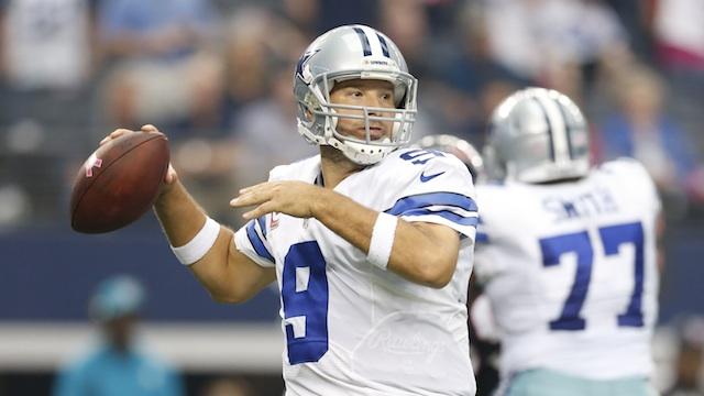 Dallas Cowboys quarterback Tony Romo was an elite HS hoops player. (Photo: USA Today Sports)