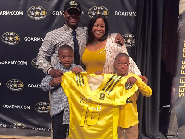 Daelin Hayes has known he would go to the U.S. Army All-American Game since he was a sophomore. (Photo: Daelin Hayes, Twitter).