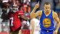 Colin Kaepernick (left) and Steph Curry