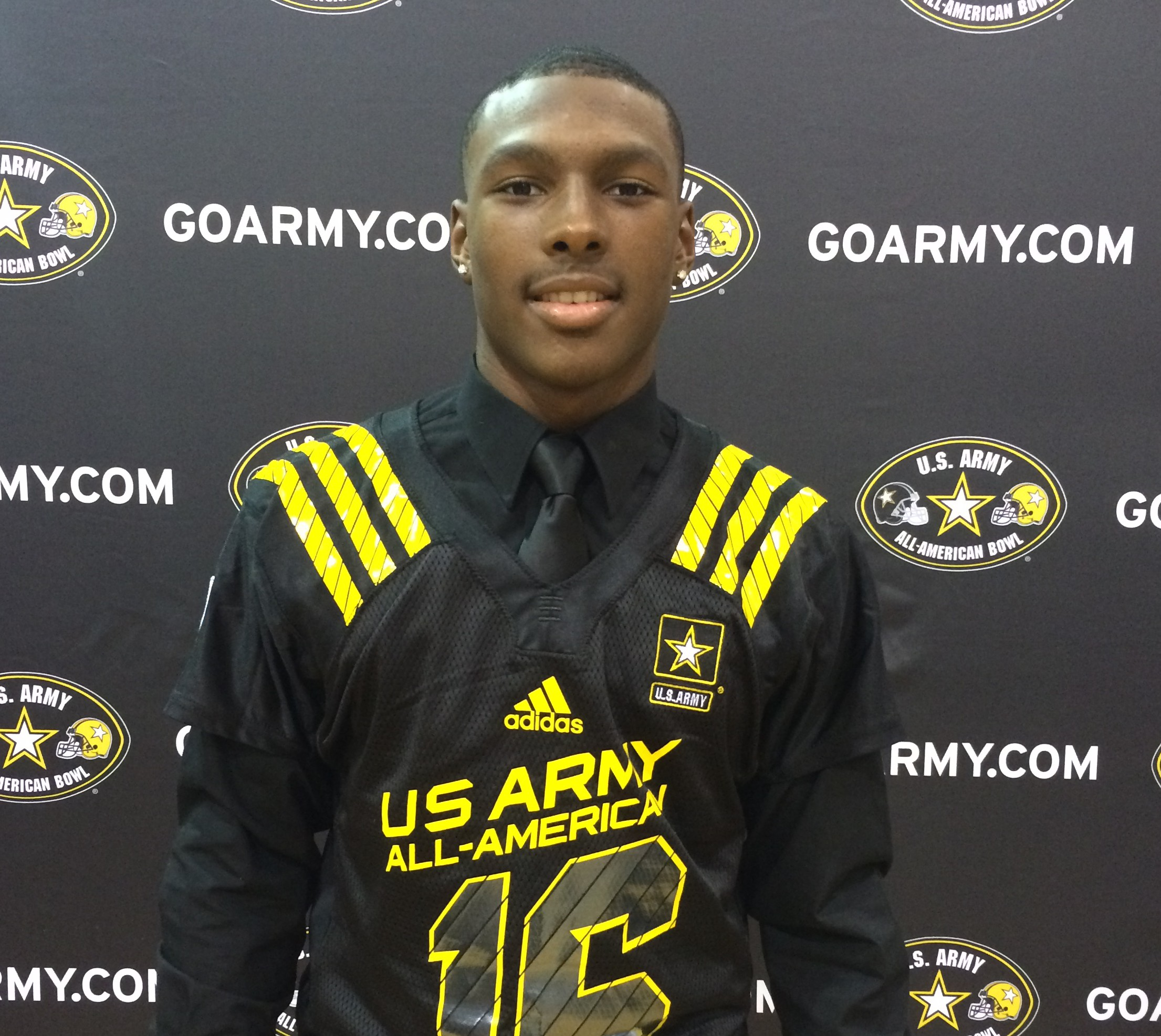 Mecole Hardman. (Photo: U.S. Army All-American Bowl)