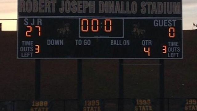 St. Joseph Regional (Montvale, N.J.) football is ranked No. 1 in New Jersey. (Twitter)
