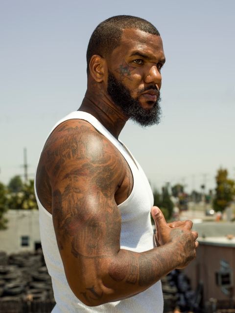 The Game says he's No. 1 when it comes to rappers that hoop.
