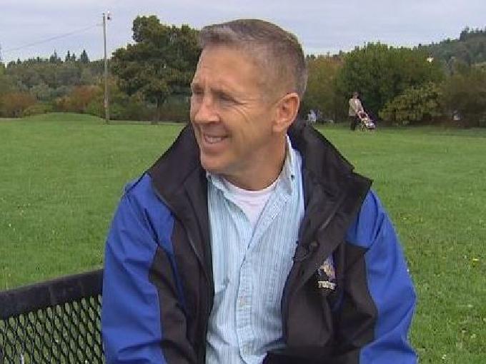 Bremerton High School assistant football coach Joe Kennedy.