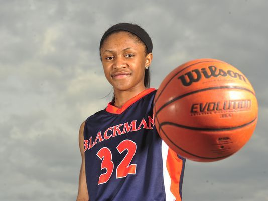 Crystal Dangerfield leads Blackman (Photo: Samuel L. Simpkins, The Tennessean)