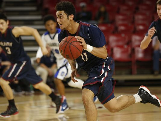 Markus Howard and Findlay Prep (Henderson, Nev.) will play x times on ESPN channels this season. (Photo: Michael Chow/azcentral sports).