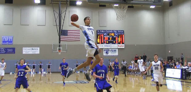 Michael Porter Jr. can't be stopped with the Euro-Step. (Photo: HoopMixTape)