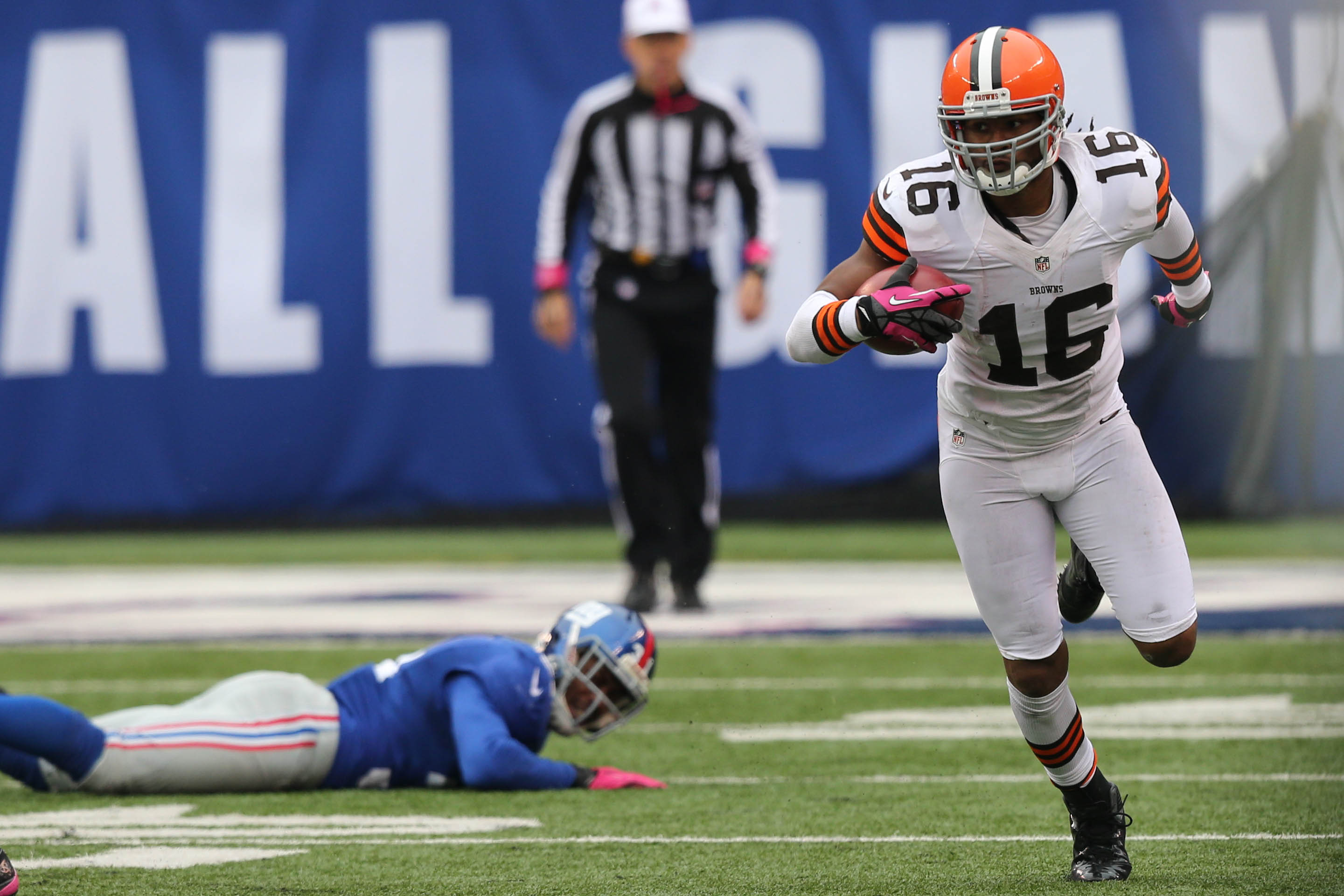 Cleveland Browns wide receiver Josh Cribbs, shown in 2012. (Photo: Anthony Gruppuso, USA TODAY Sports)