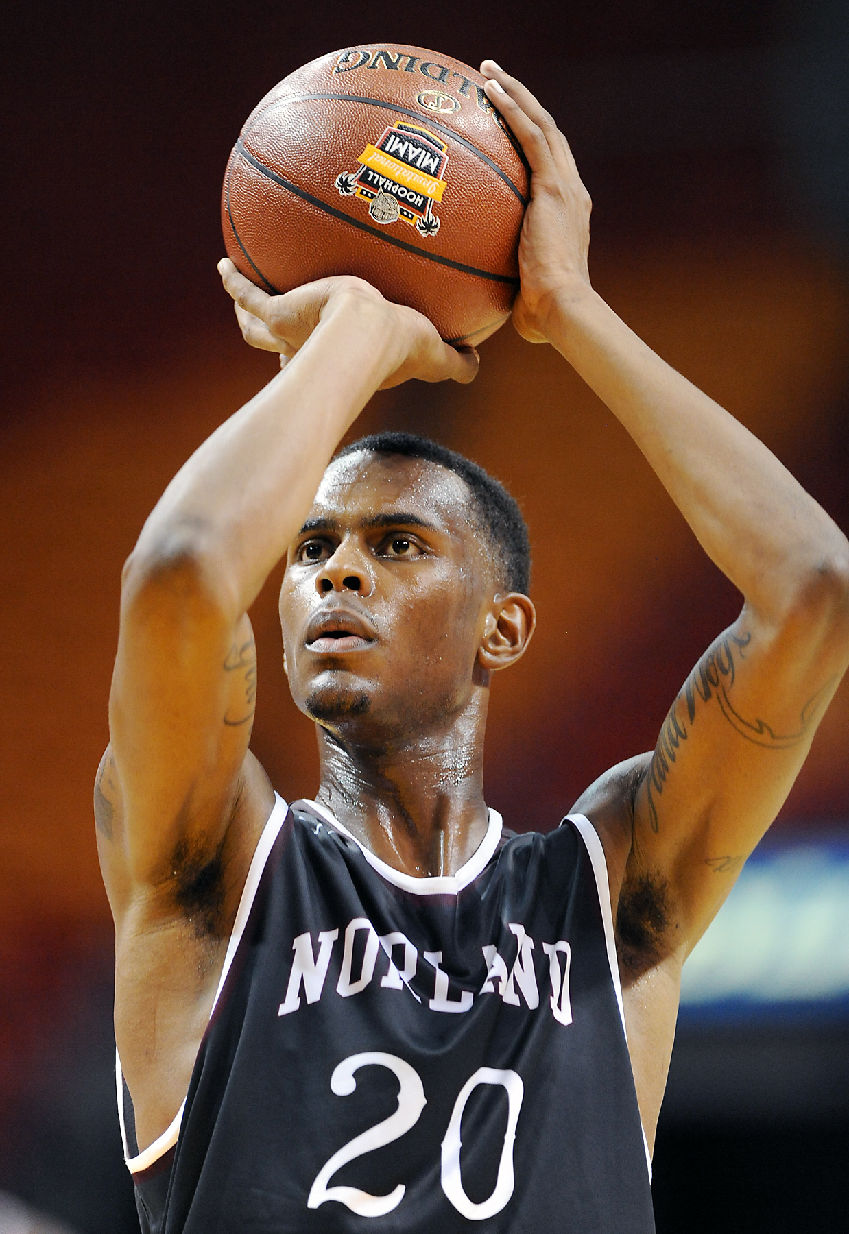 Dewan Huell is hoping to lead Miami Norland to another state title (Photo: Robert Duyos, USA TODAY Sports)