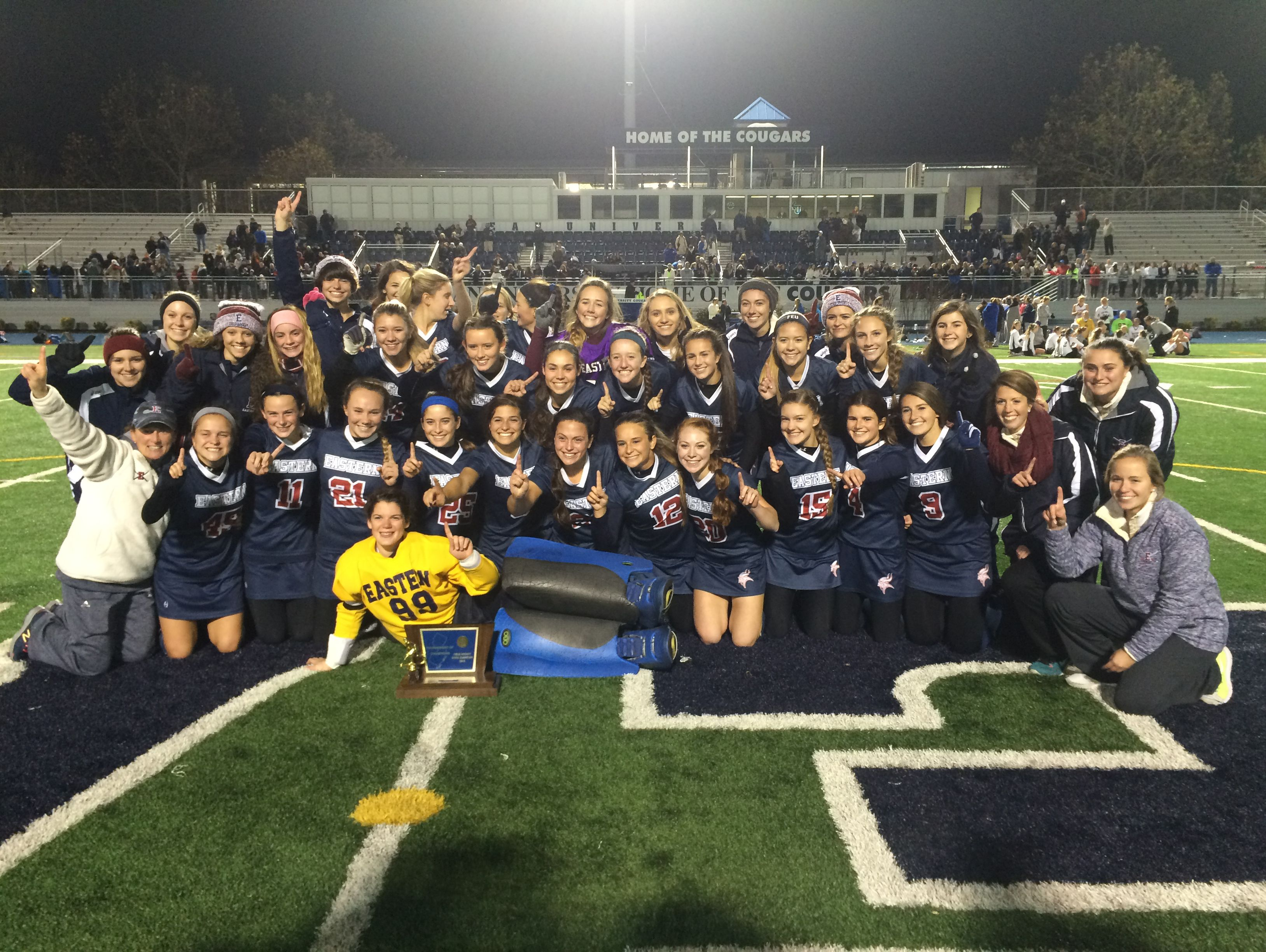 The Eastern High School field hockey team won the title of the Tournament of Champions on Friday