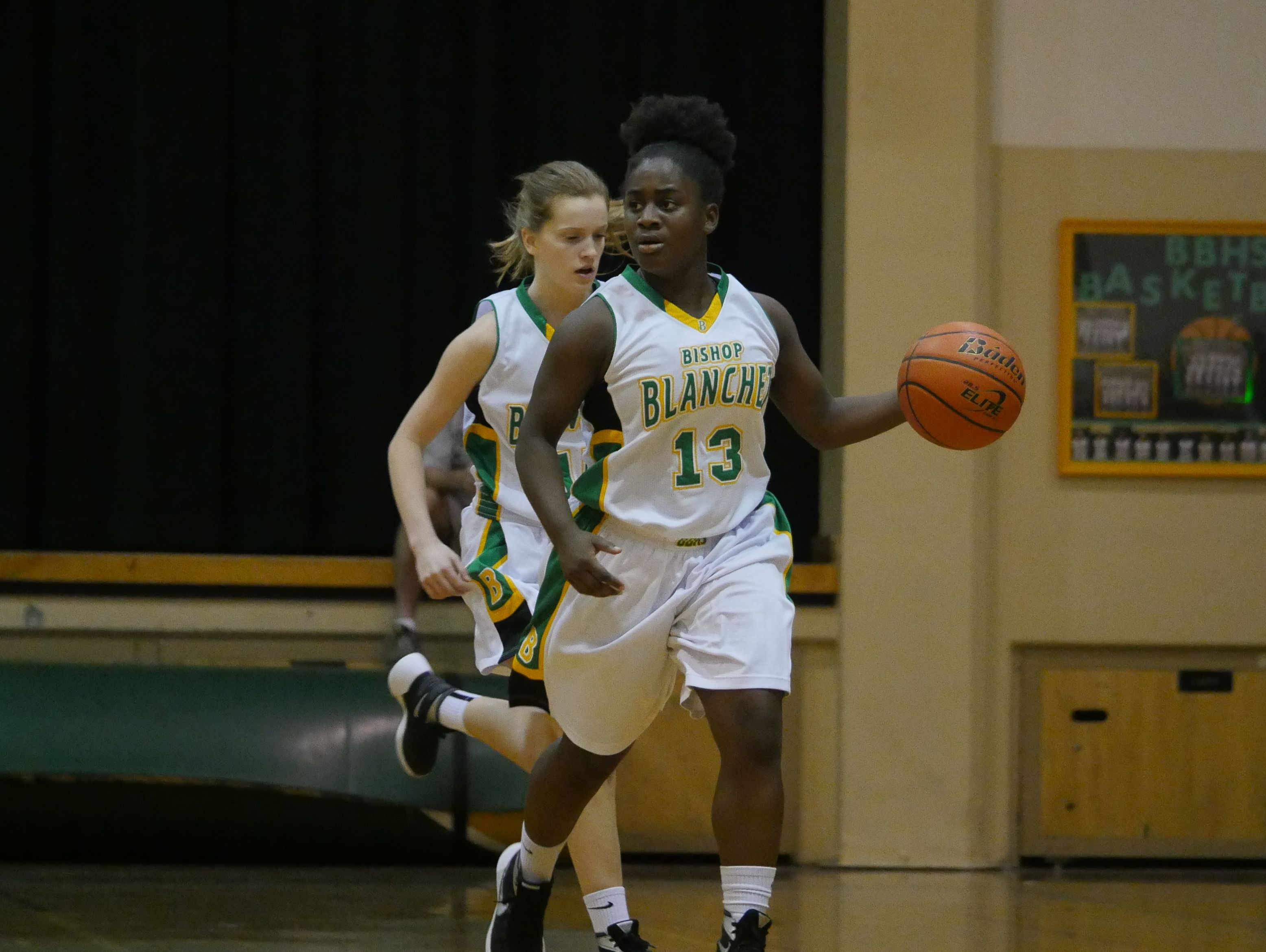 Bishop Blanchet's Taylor Chambers scored 11 points and dished out six assists against Juanita.