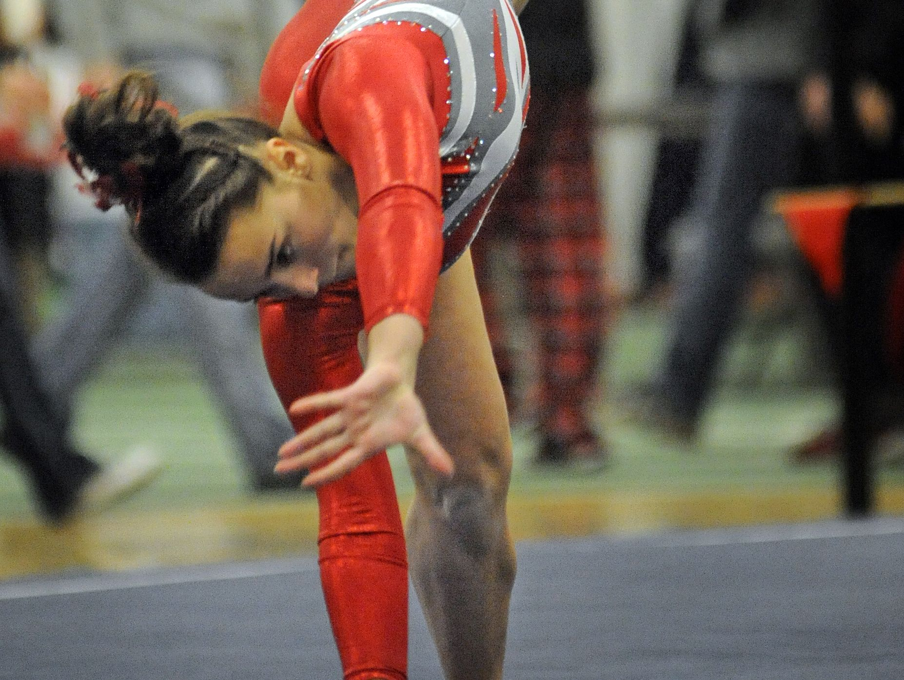 Manitowoc Lincoln senior Alyssa DeZeeuw posted a pair of top finishes in individual events at the state meet last season and was 14th in the all-around.