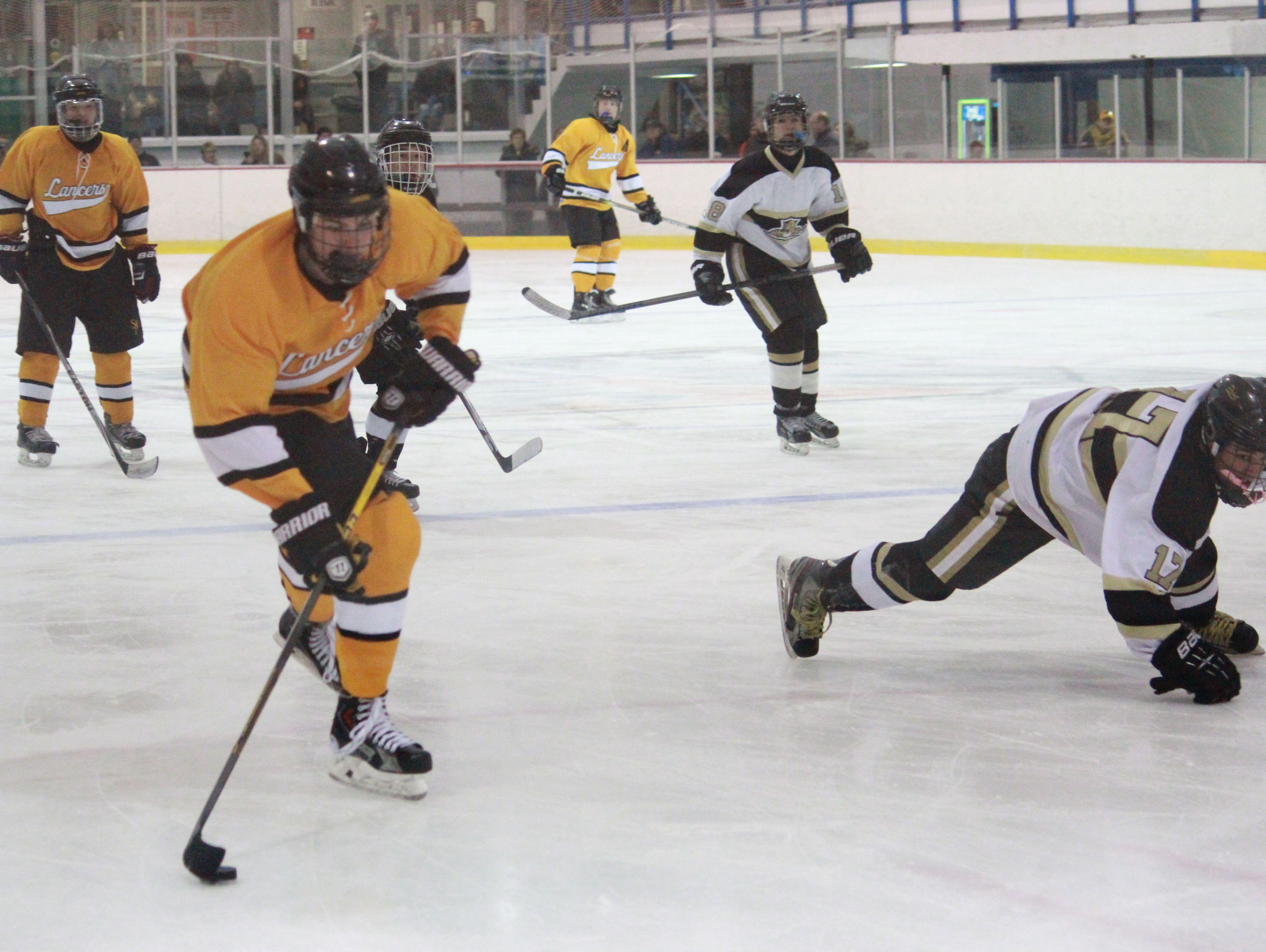St. John Vianney skated past Point Boro on Friday, Dec. 4.