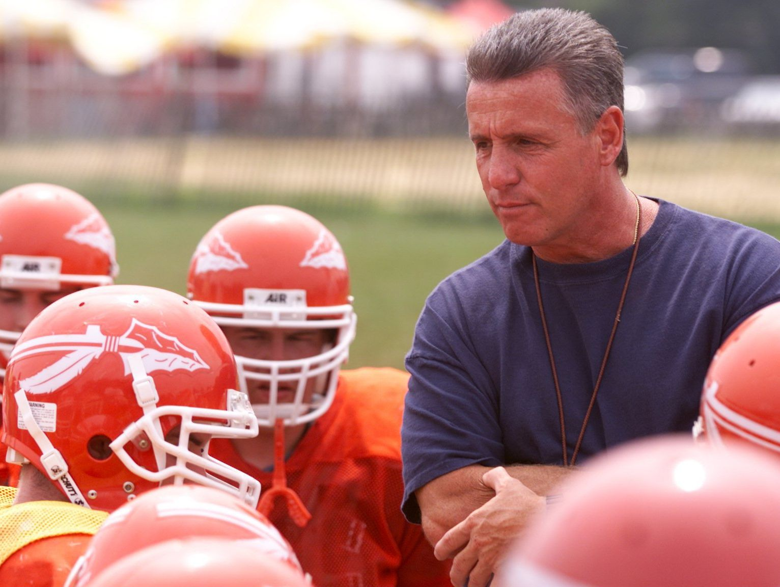 Keyport coach Mike Ciccotelli's Keyport Red Raiders won back-to-back state titles in 1987 and 1988.