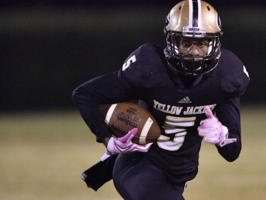 Greer High senior defensive back Troy Pride has committed to play college football at the University of Notre Dame. (Photo: Eddie Burch, Greenville News)