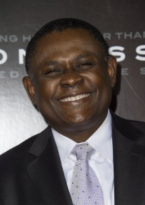 """Dr. Bennet Omalu appears at a screening of """"Concussion."""" (Getty Images)"""