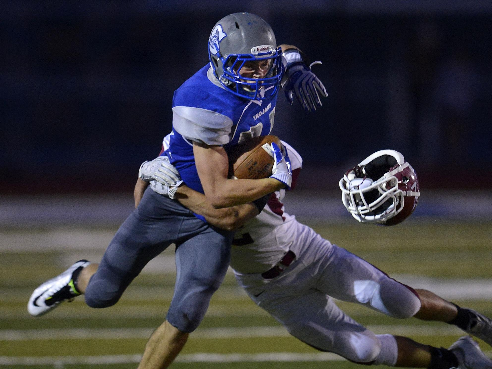 Green Bay Southwest senior Ryan McClure earned first-team all-FRCC honors as a receiver.