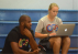 Through GCU and her internship with Position Sports, Brittany Holen was able to assist with the Chris Paul Camp last summer. (Photo: Position Sports)