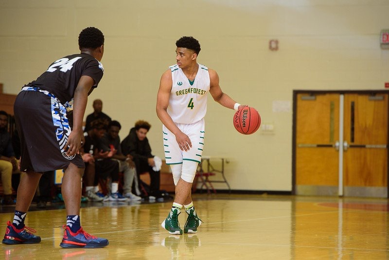 Justin Forsett helped Greenforest Christian to the finals of the Chick-fil-A Classic (Photo: Forrest AAU)