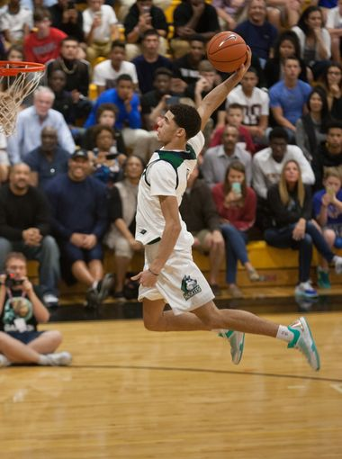 Lonzo Ball will be must-see TV at the Hoophall. (Fort Myers News-Press Photo by Gregg Pachkowski )