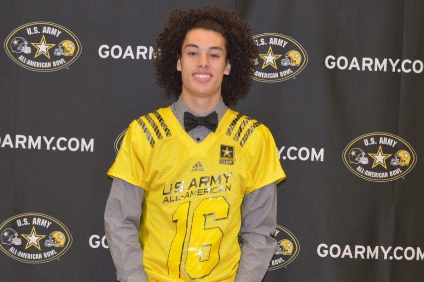Wide receiver Simi Fehoko from Brighton in Utah (Photo: Army All-American Bowl)