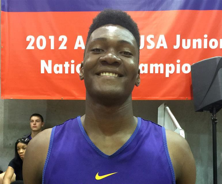 Bruno Fernando came up big for Montverde at the CRC. (Photo: 247 Sports)