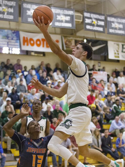 Lonzo Ball (Photo: Kinfay Moroti, Fort Myers News-Press)