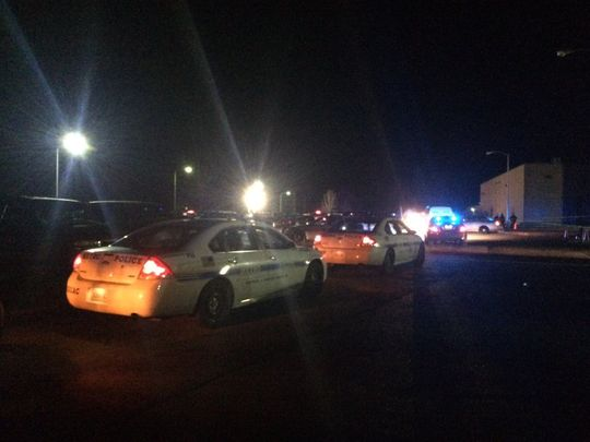 Police responded to a report of a shooting at Whites Creek High School Friday night. (Photo: Jordan Buie , The Tennessean)