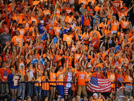 Bishop Gorman (Las Vegas) would have a hard time finding opponents if a school board candidate's platform of banning football for Clark County schools is passed.