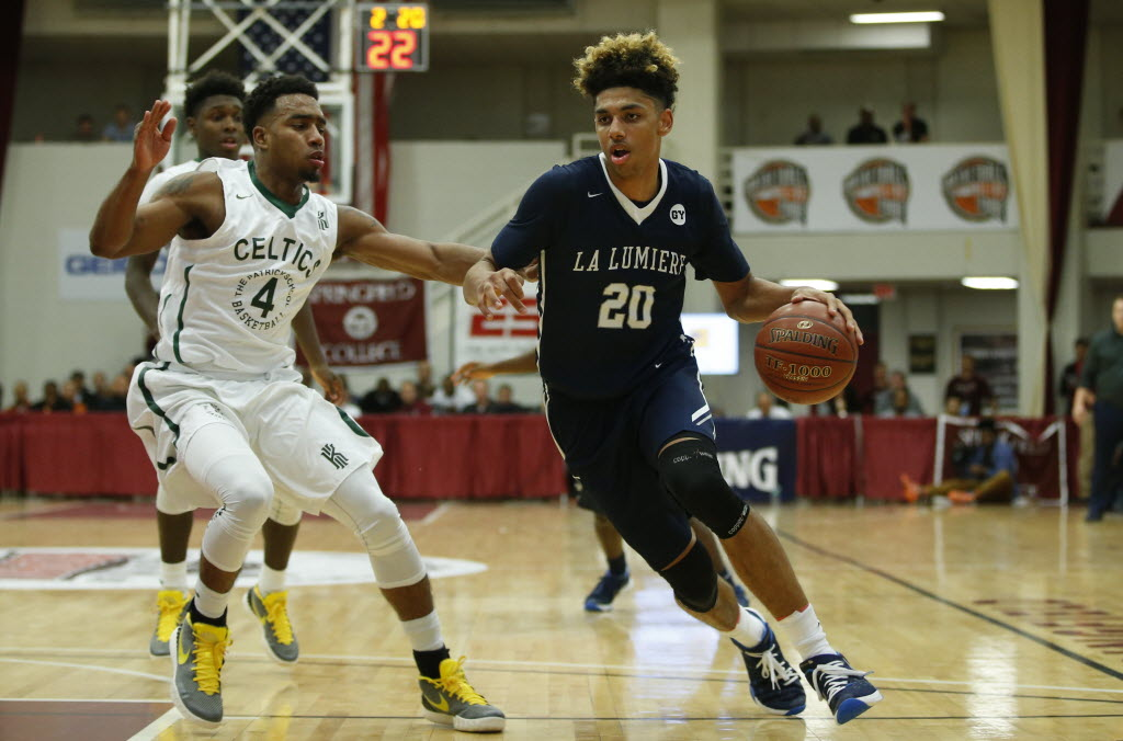 La Lumiere's Brian Bowen is super focused headed into matchup against Findlay Prep. (Photo by David Butler II/USA Today Sports Images).