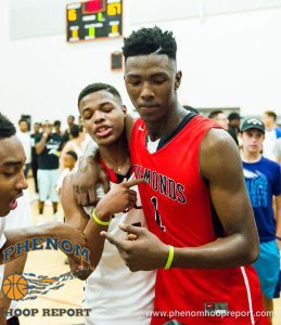 Dennis Smith Jr. (left) and Harry Giles III (right) are still a big draw. (Photo: Phenom Hoop Report)