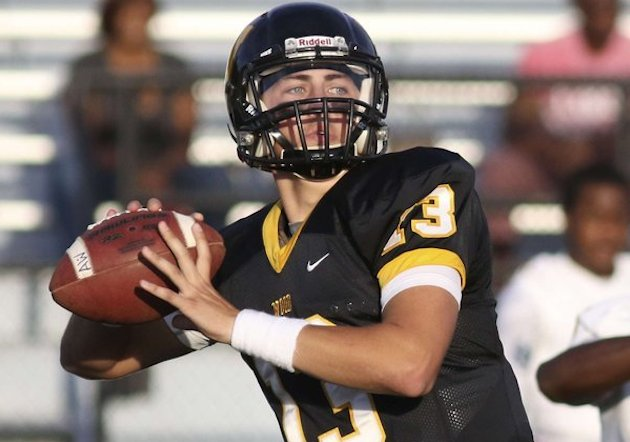 Archbishop Wood senior QB Anthony Russo decommitted from Rutgers on Monday (Photo: Twitter)