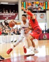 Markelle Fultz had 20 points to lead No. 8 DeMatha to a 72-69 overtime defeat of No. 14 Chaminade at the Hoophall Classic in Springfield, Mass. (Photo: Bob Blanchard/RJB Sports).