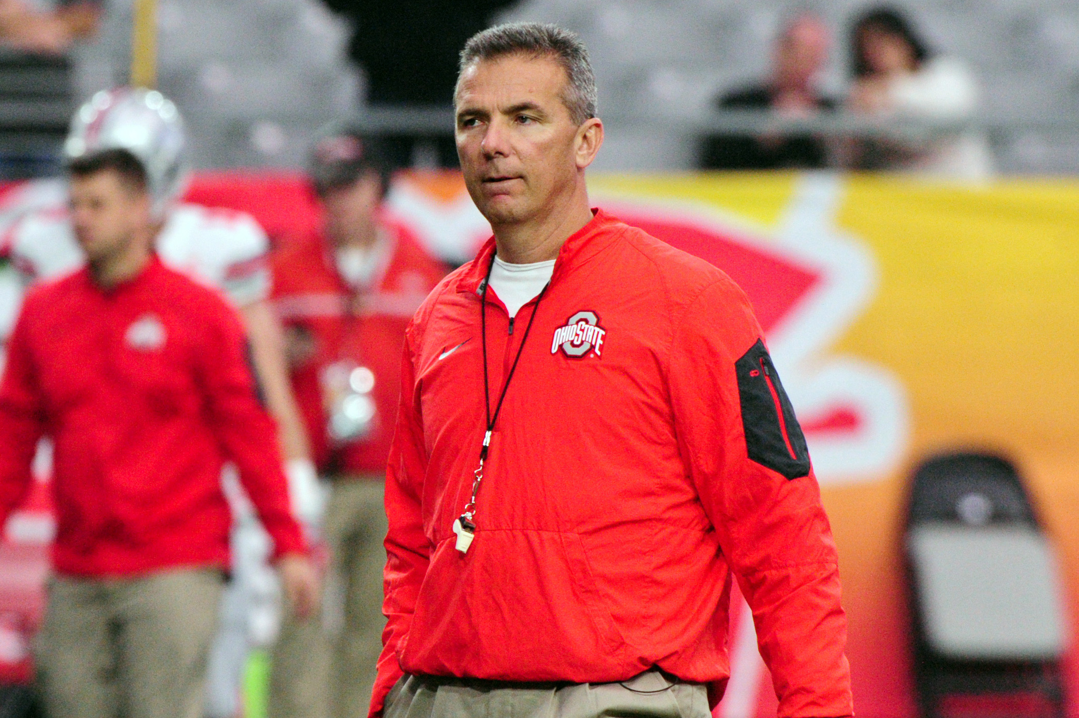 Ohio State Buckeyes head coach Urban Meye. Photo: Matt Kartozian-USA TODAY Sports