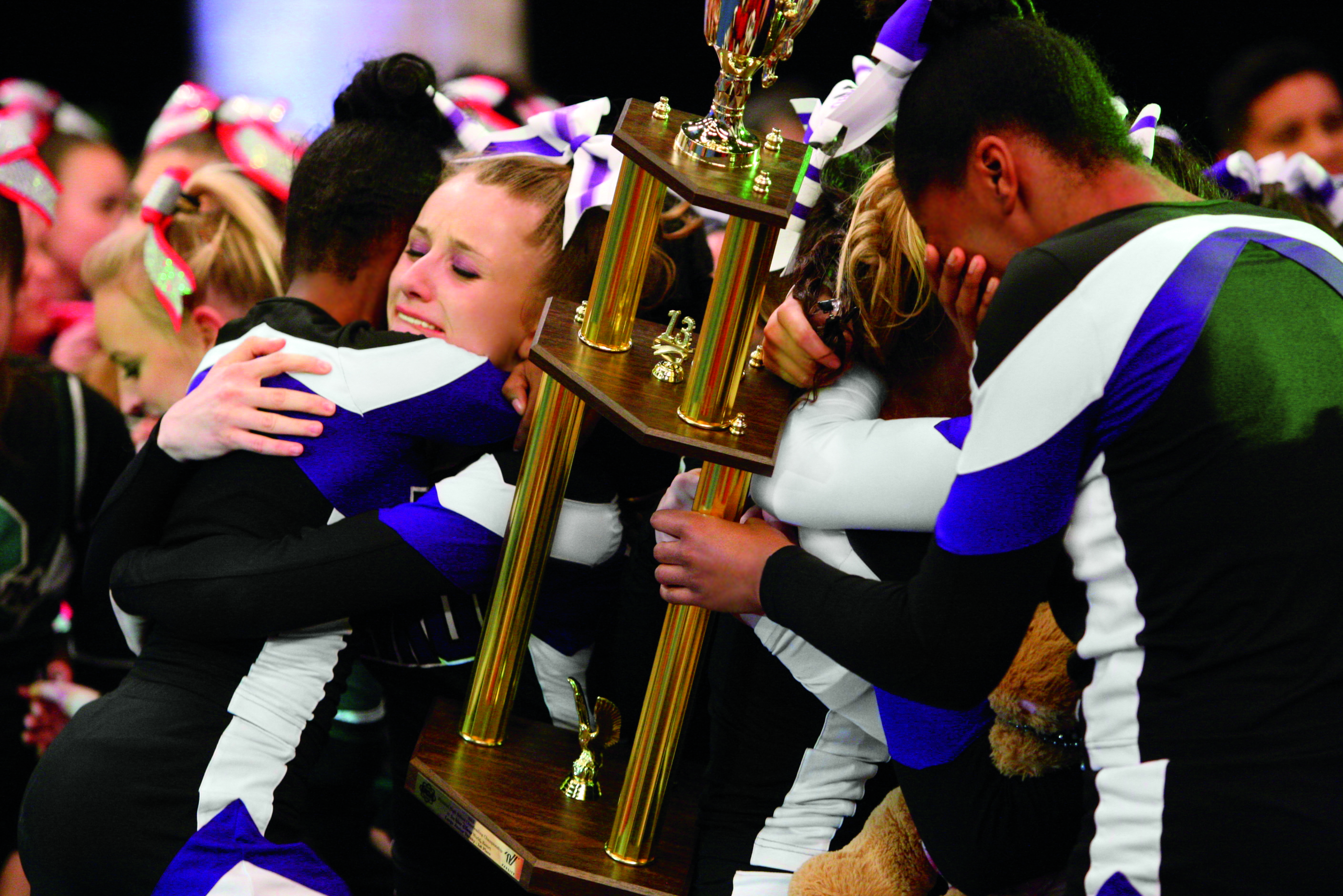 National cheerleading competitions are on tap over the next several weeks (Photo: Varsity Brands)