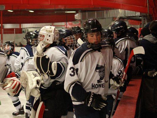 Howell Ice Hockey (Photo: Chris Rotolo, Asbury Park Press)
