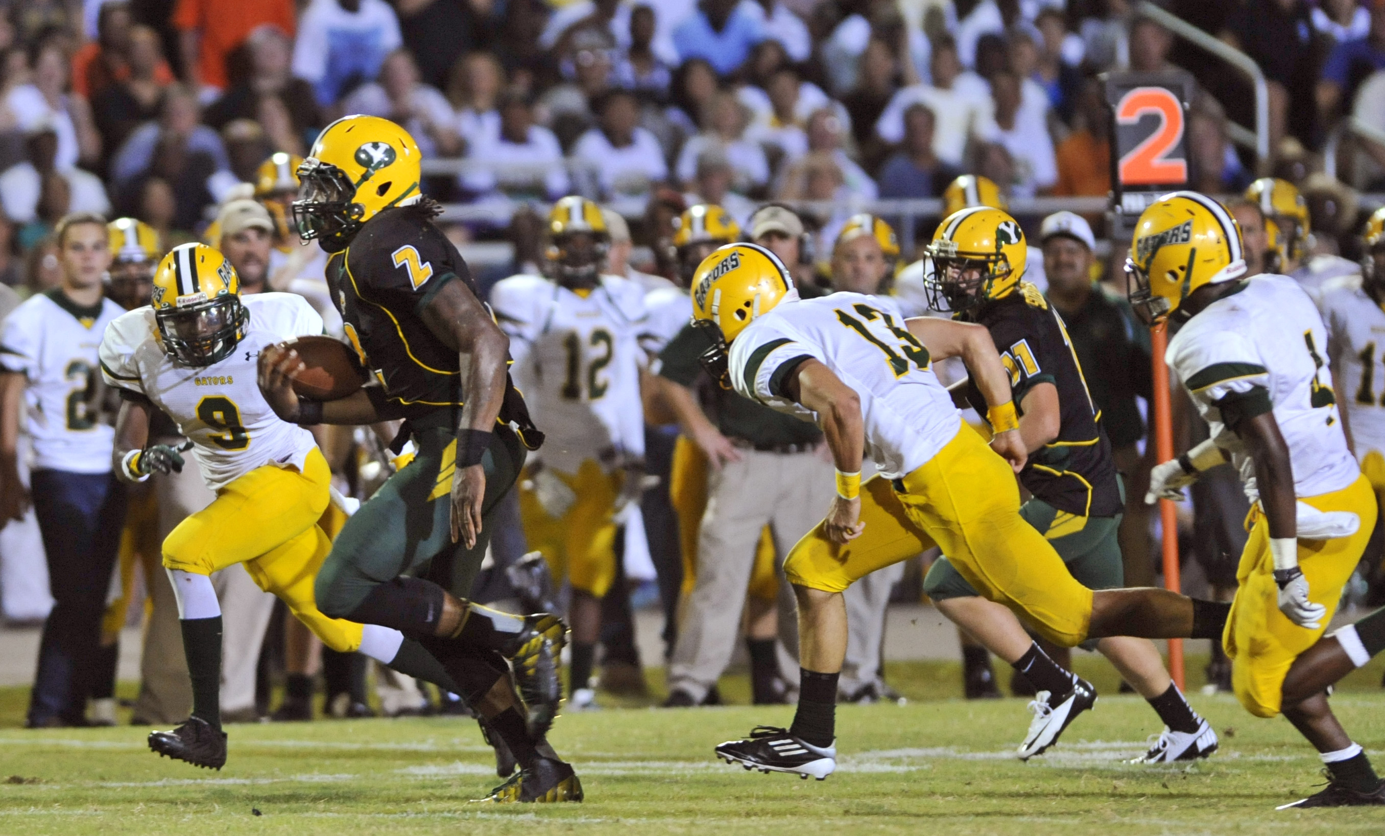 Yulee running back Derrick Henry (2). (Photo: Will Dickey, AP)