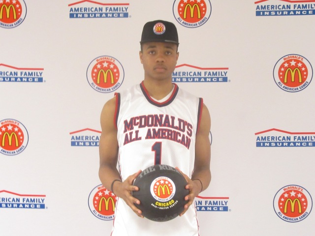Markelle Fultz will have to show up big against St. John's College. (Photo: McDonald's All American Game)