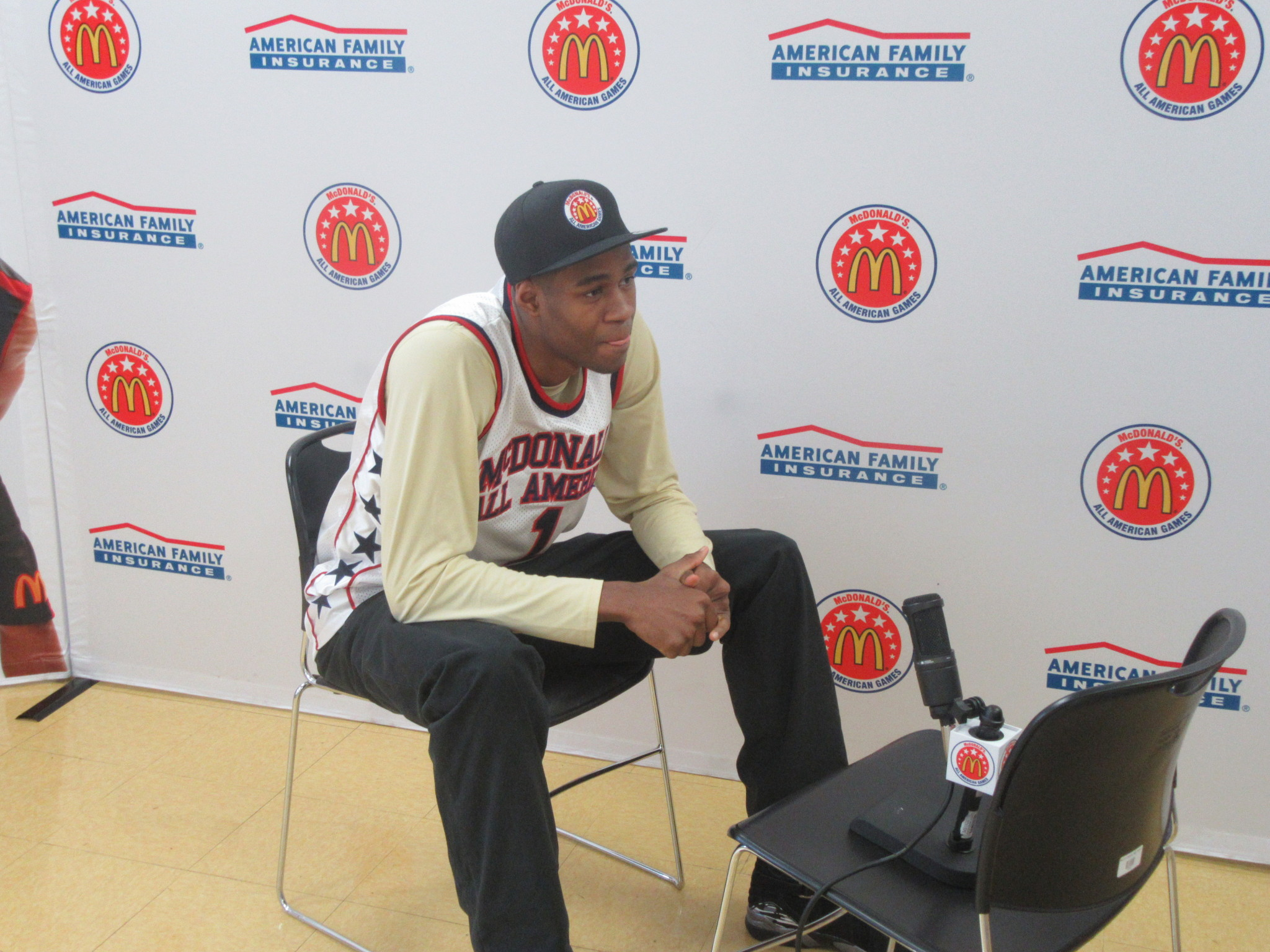 V.J. King Jr. accomplished a dream with McDonald's AA nod. (Photo: McDonald's All American Game)
