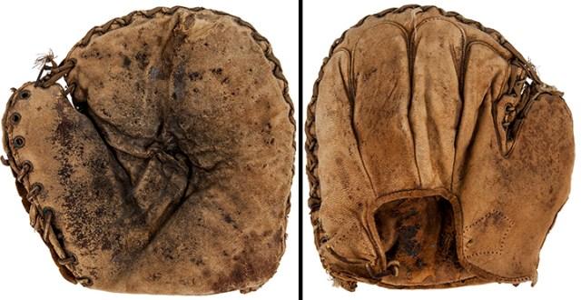 Babe Ruth's high school catcher's mitt (Photo: Goldin Auctions)