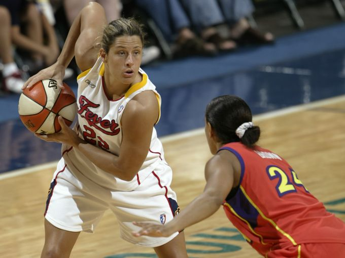 Stephanie White had a five-year WNBA career, mainly with the Indiana Fever (Photo: Mpozi Mshale Tolbert , Indy Star)