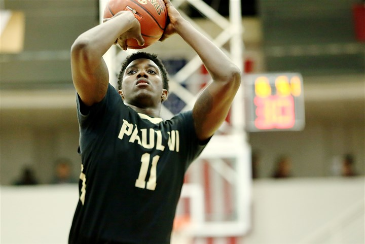 Paul VI High School's Corey Manigault during the HoopHall Classic in January (Photo: Gregory Payan, Associated Press)
