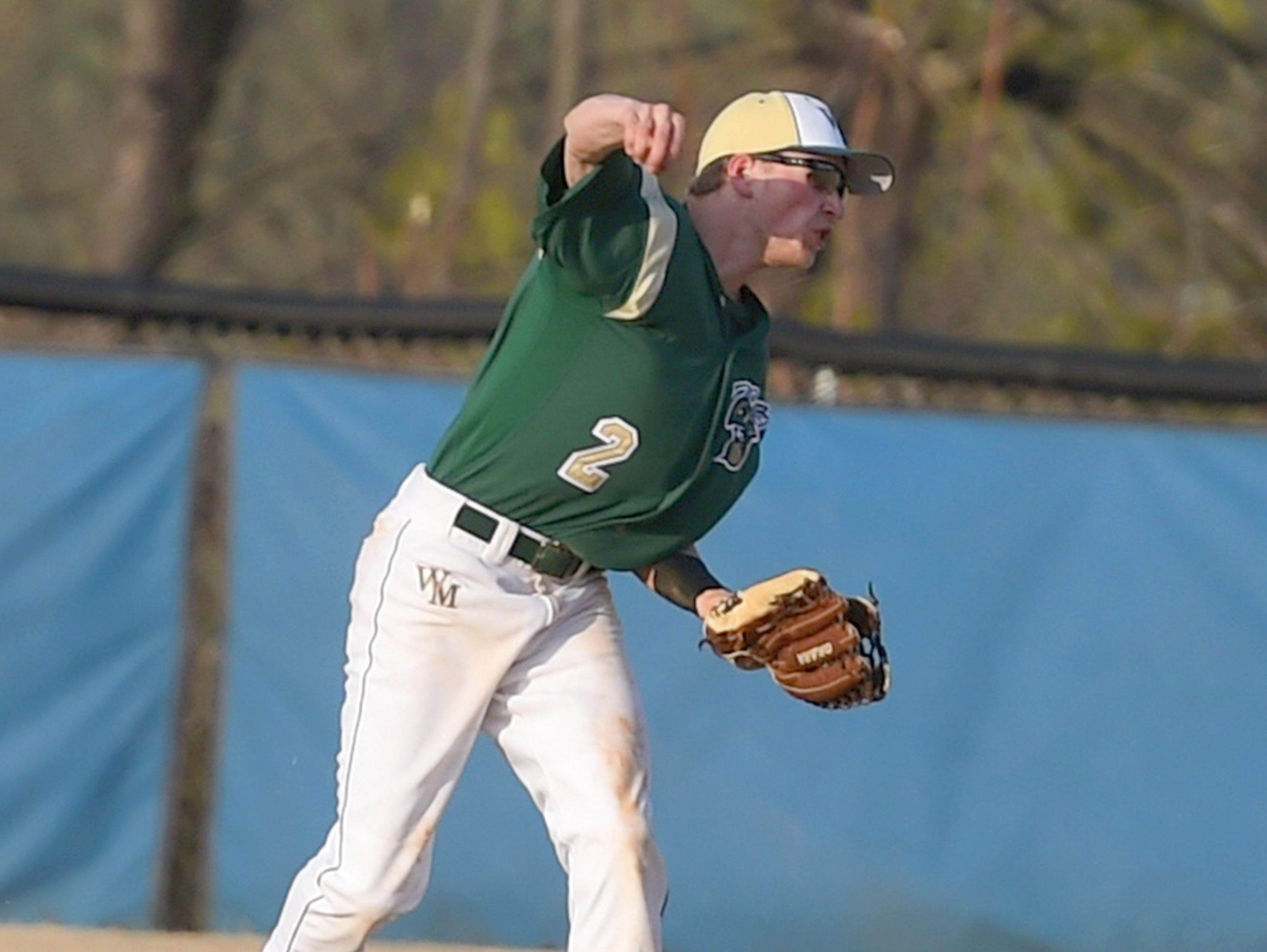 Wilson Memorial's Ty Kauffman, an All-Conference 36 center fielder last season, is back for the Green Hornets.