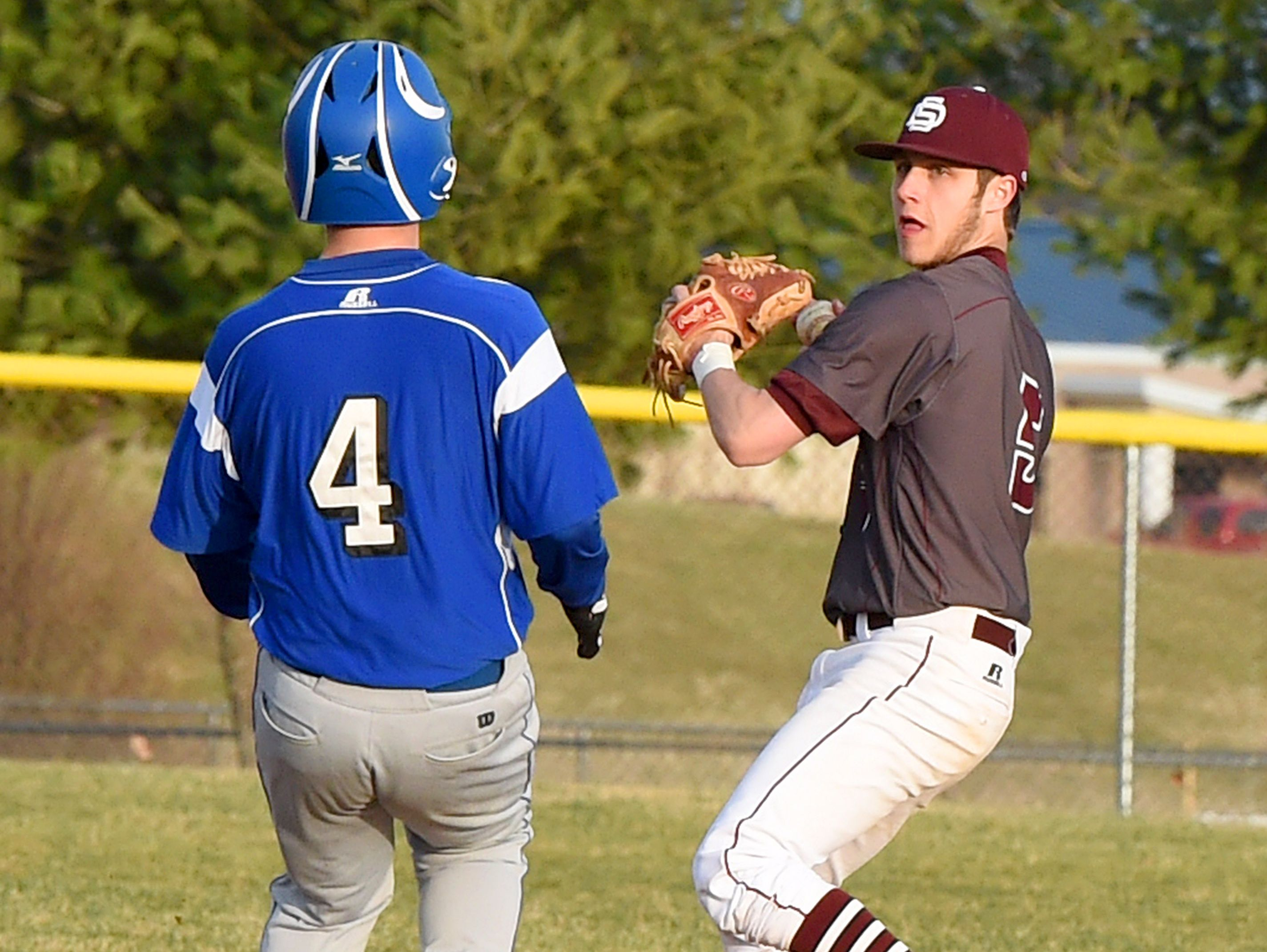 Tyler Robinson is back at second base this season for Stuarts Draft.