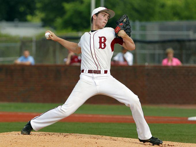 Ballard High School pitcher Tyler Horsley (Photo: John Sommers II, Courier-Journal)